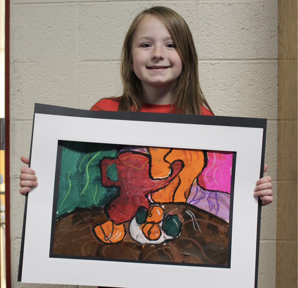 Silver Award Honor for Artwork