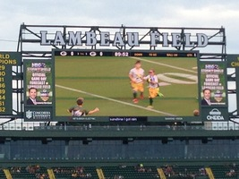 Eleva-Strum Youth Play on Lambeau Field