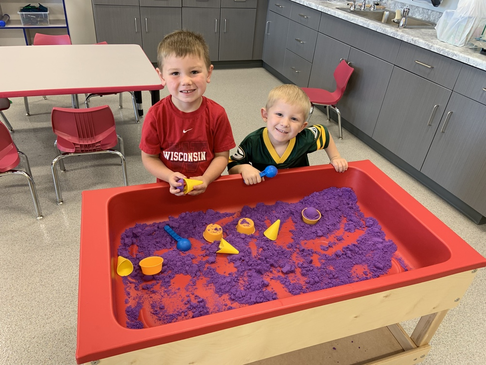 4K Students Learn Through Play and Building Relationships