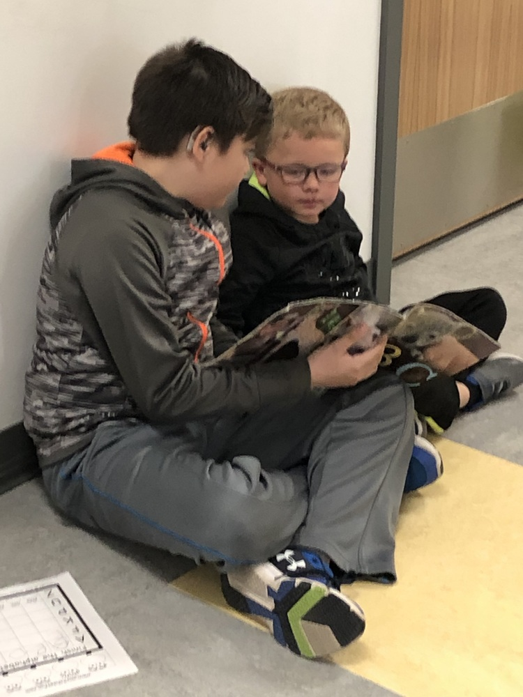 Friends Read Together!