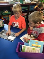 1st and 2nd Graders Are Teaming UP to Read!