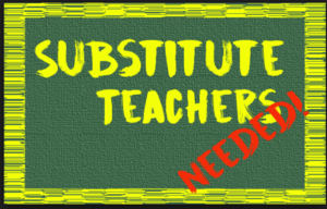 Cardinal's Need Substitute Teachers and Aides!