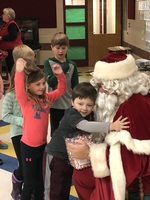 Santa Helps Say Good-bye!
