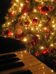 Christmas Tree & Piano